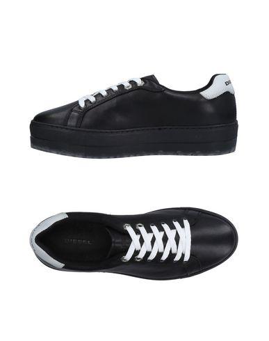 Zapatos de hombre y mujer de promoción por tiempo limitado Zapatillas Diesel Mujer - Zapatillas Diesel - 11200695WT Negro