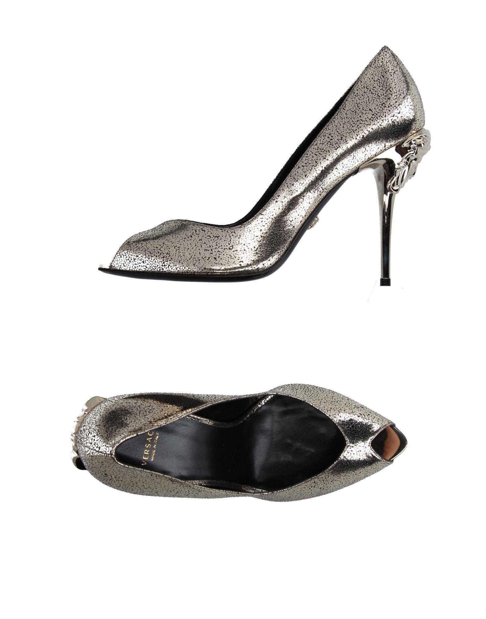 Versace Pumps Damen  aussehende 11200959KAGünstige gut aussehende  Schuhe 3c9e45