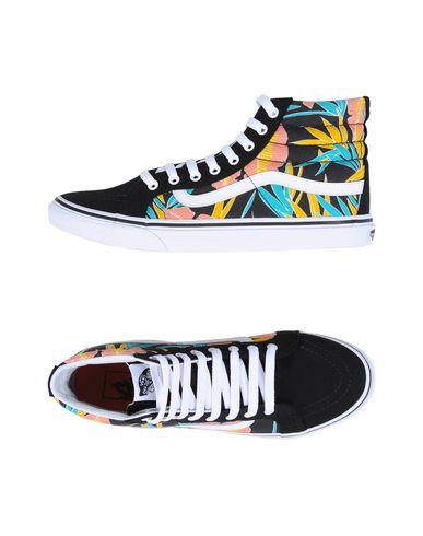 3b3cef1607 Vans Ua Sk8-Hi Slim - Tropical Leaves - Sneakers - Women Vans ...