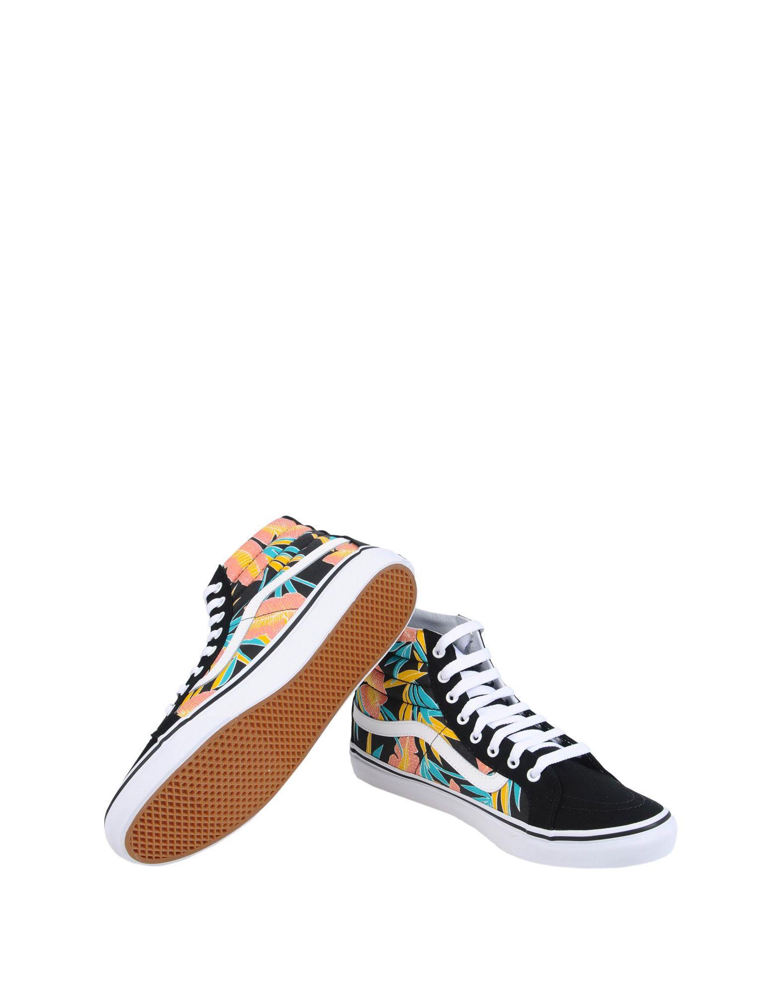 Sneakers Vans Ua Sk8-Hi Slim - Tropical Leaves - Femme - Sneakers Vans sur