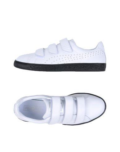 af8e017620d90b Puma Basket Classic Strap B W - Sneakers - Men Puma Sneakers online on YOOX  United States - 11201513