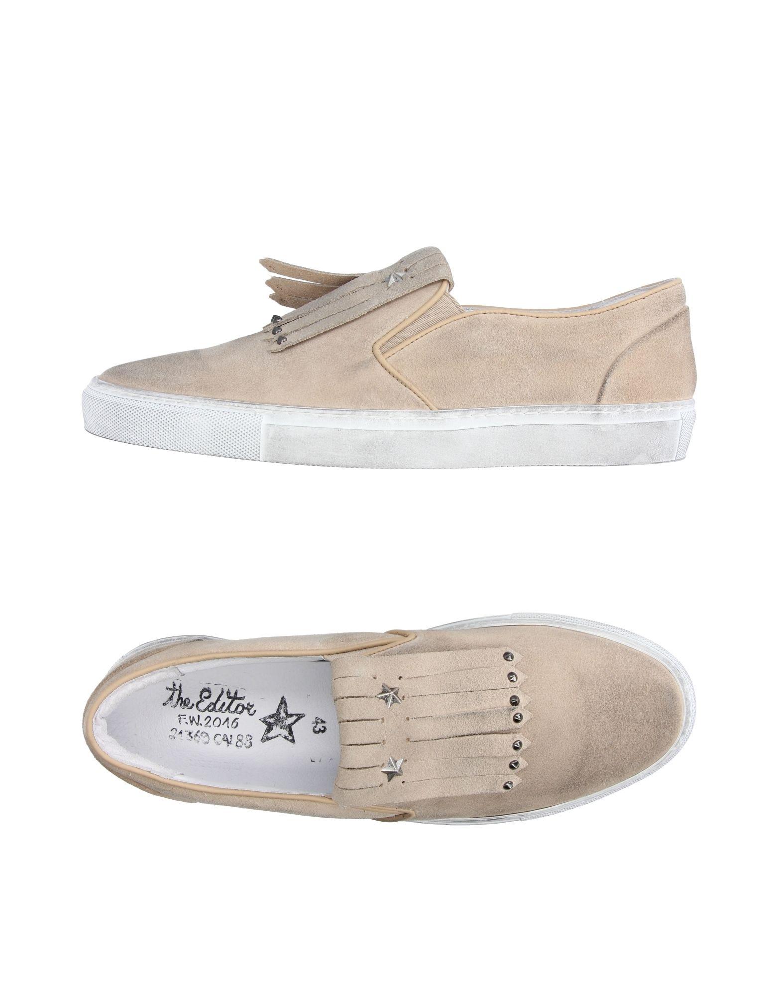 Rabatt echte Schuhe Herren The Editor Sneakers Herren Schuhe  11203759NE 548d1c