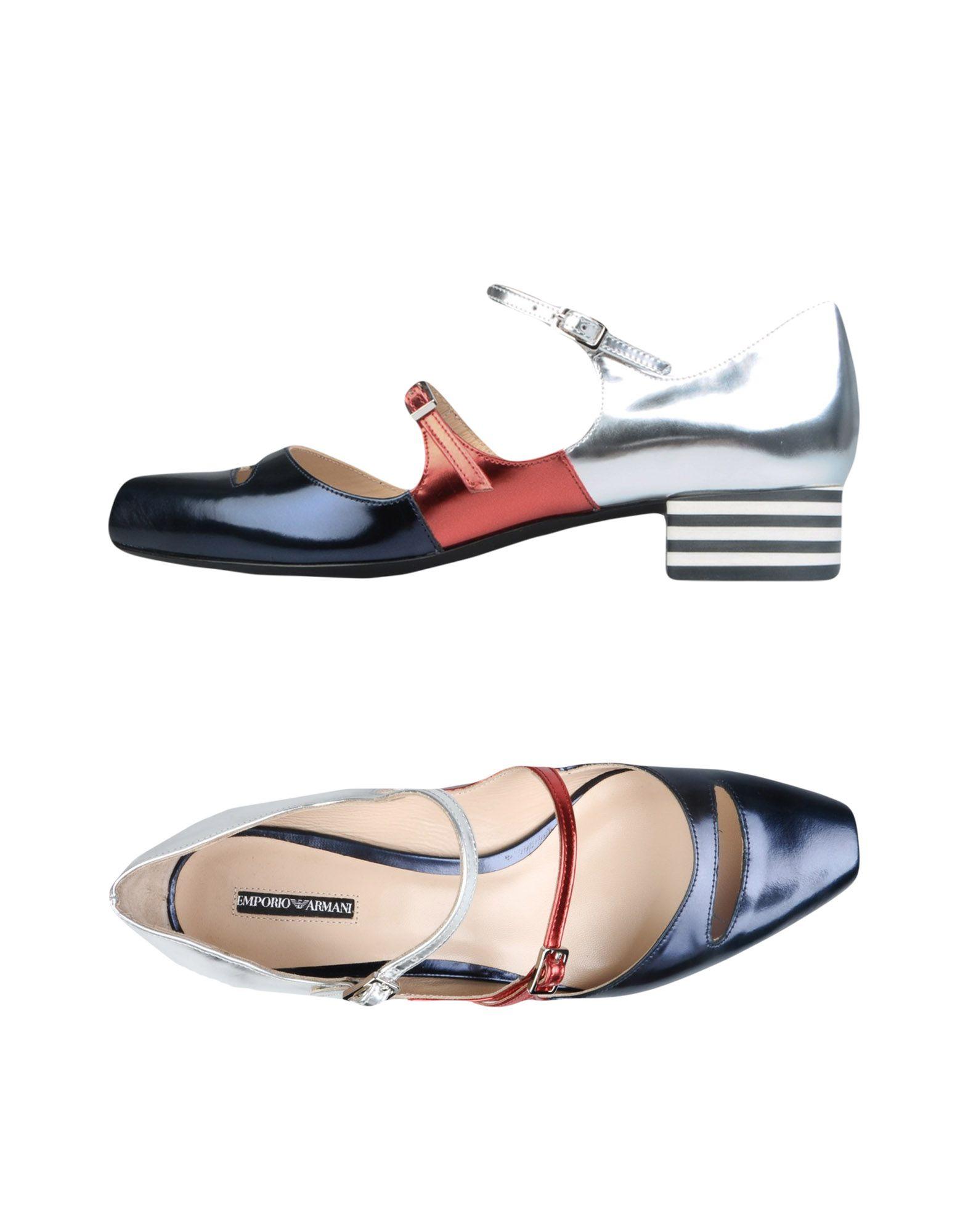 Emporio Armani Ballerinas Damen  11204055QQ Neue Schuhe