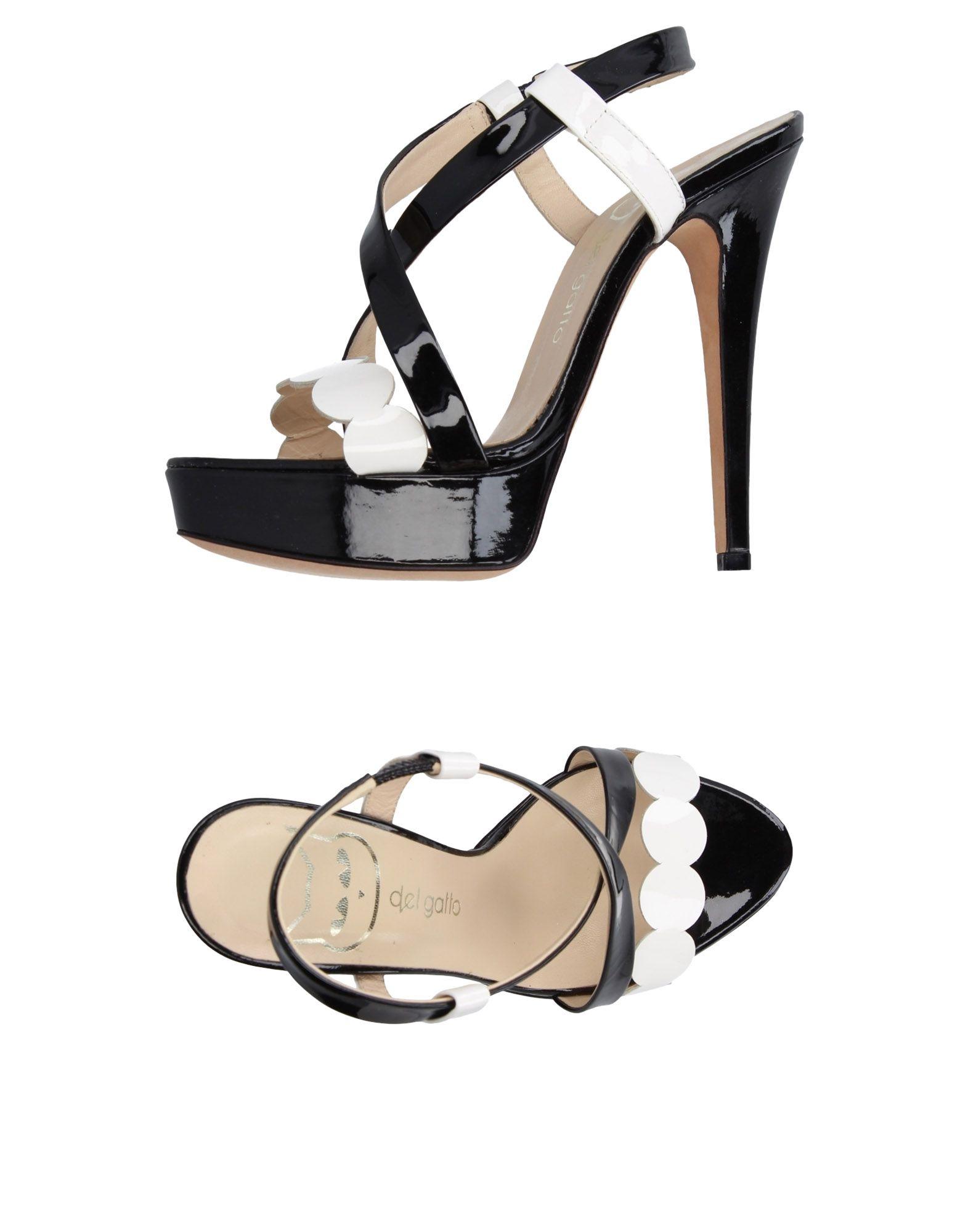 Gut um billige Schuhe zu tragenDel Gatto Sandalen Damen  11204125BU