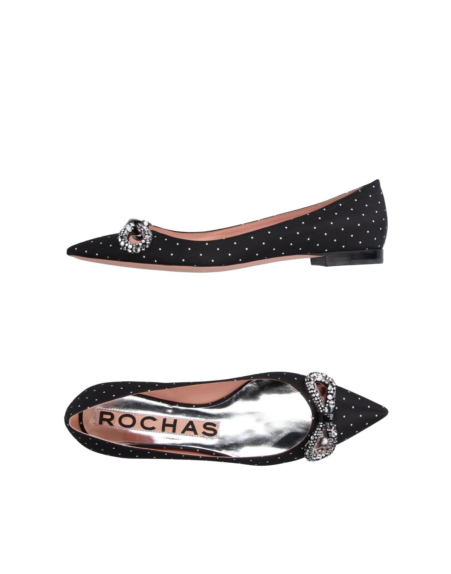 Schuhe Rochas Ballerinas Damen  11205153TG Heiße Schuhe  ea2a58