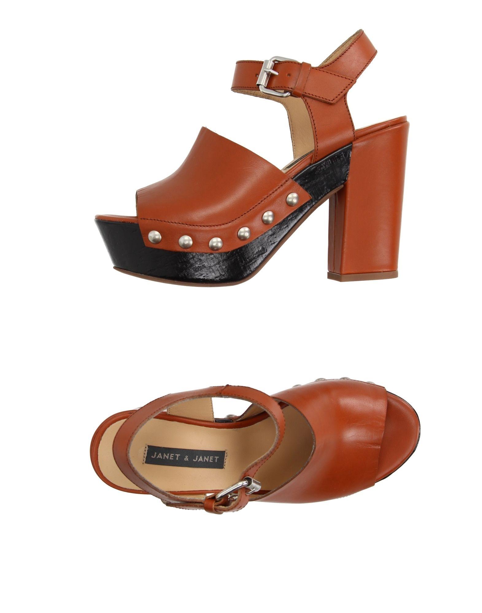 Janet & & Janet Janet Sandalen Damen  11205381CL Gute Qualität beliebte Schuhe 403214