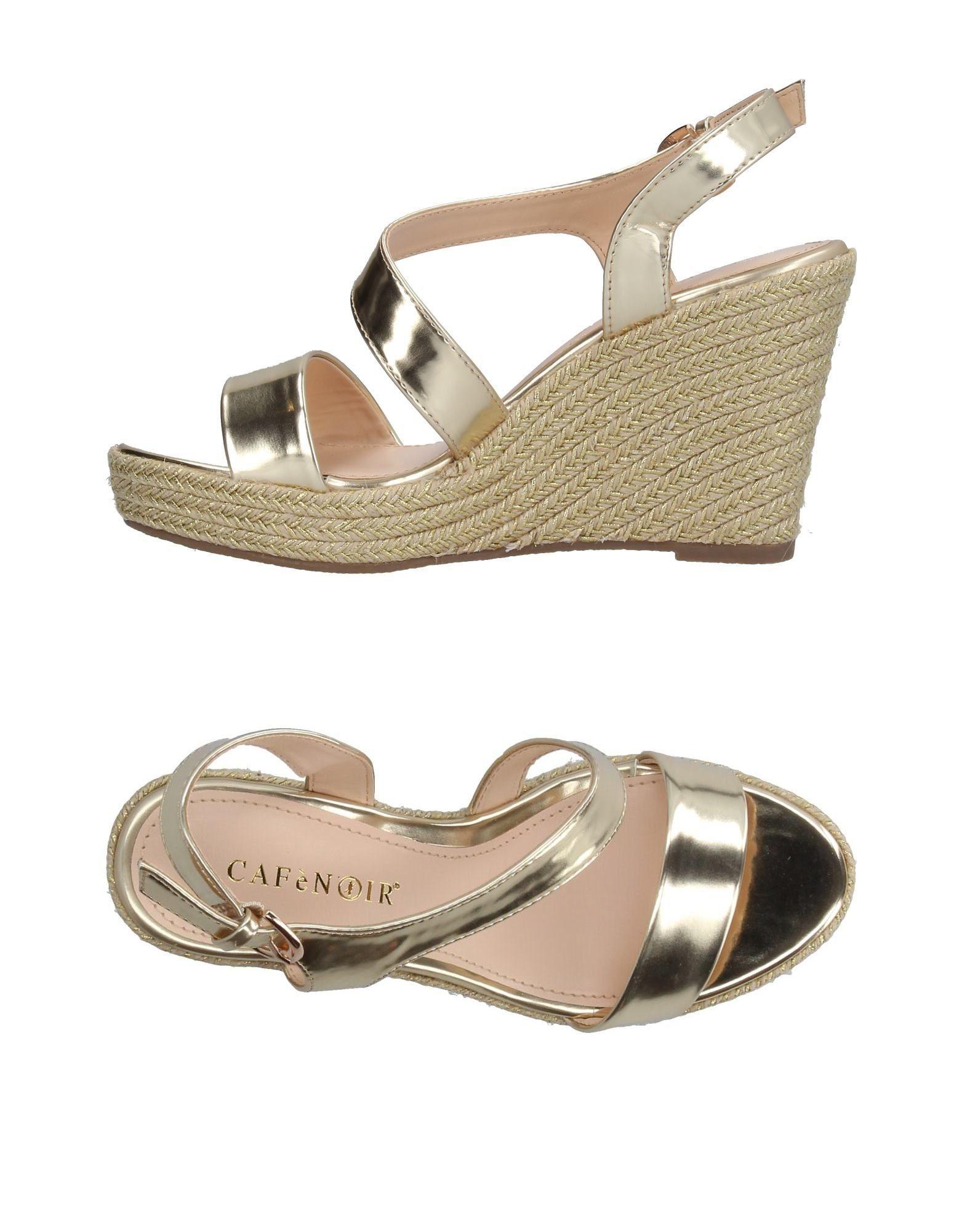 Haltbare Mode billige Schuhe Cafènoir Espadrilles Damen  11208068MS Heiße Schuhe