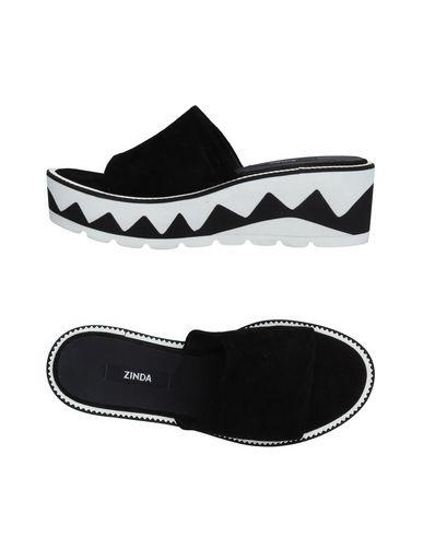 Zapatos casuales salvajes Sandalia Zinda Mujer - Negro Sandalias Zinda - 11208234VN Negro - a06038