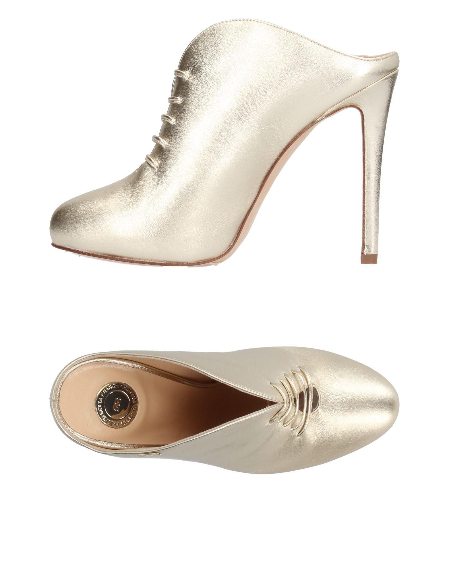 Elisabetta 11208686TTGut Franchi Pantoletten Damen  11208686TTGut Elisabetta aussehende strapazierfähige Schuhe 2876a9