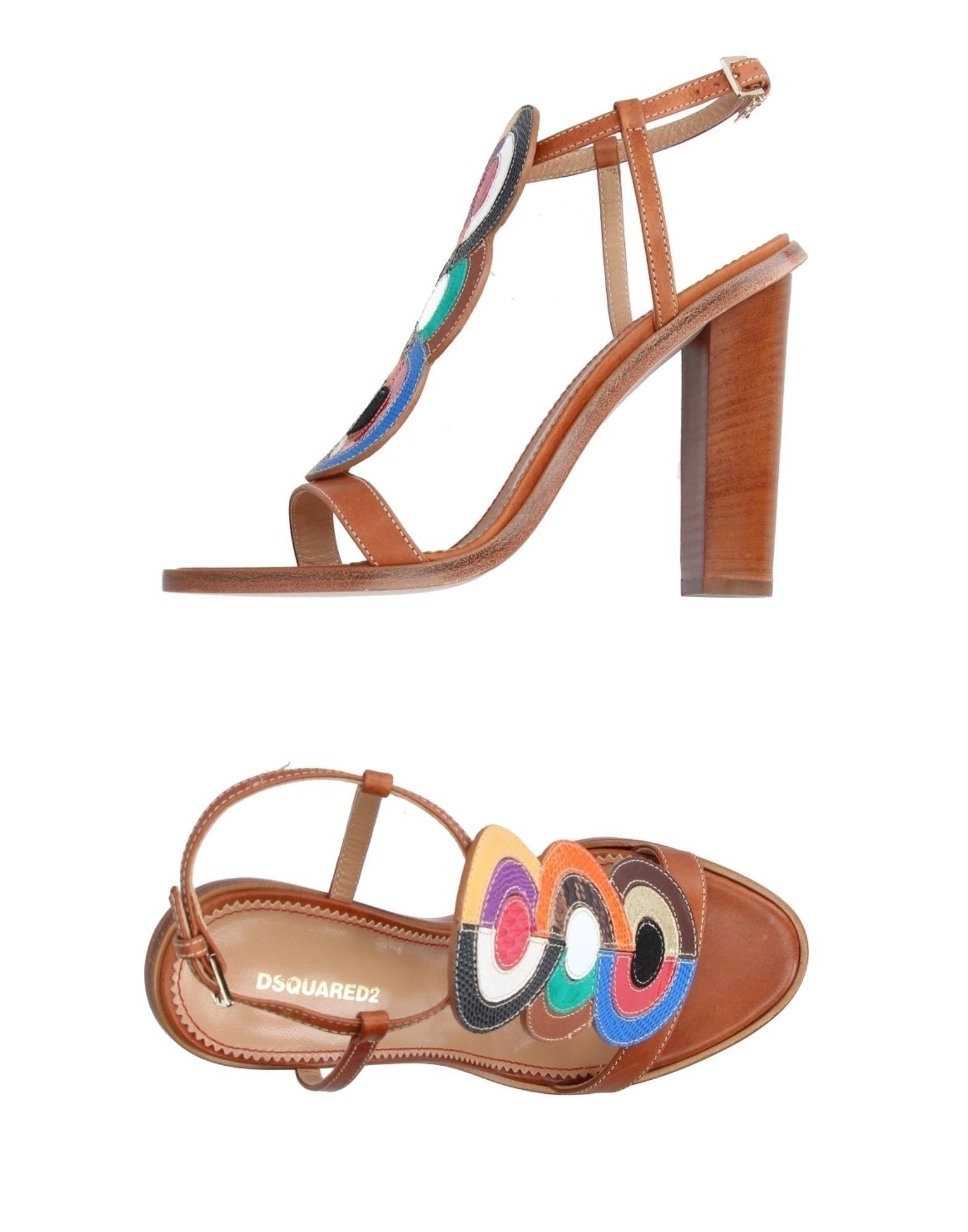 Haltbare Mode billige Schuhe Dsquared2 Sandalen Damen  11209440GG Heiße Schuhe
