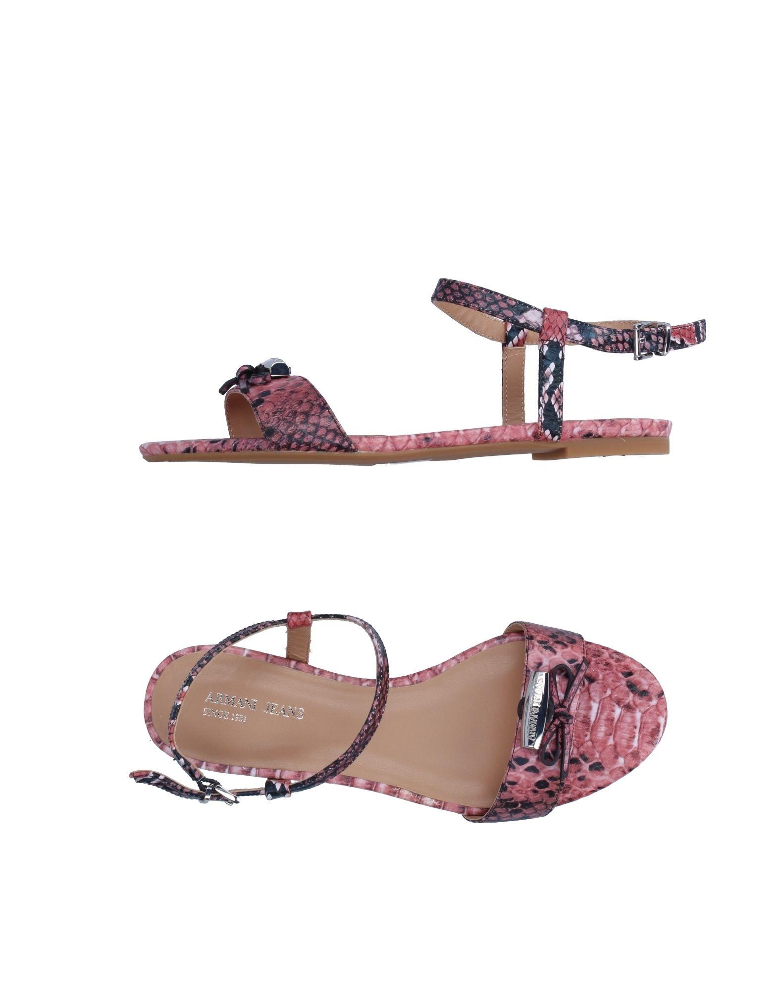 Gut um billige Schuhe zu tragenArmani Jeans Sandalen Damen  11209748FK