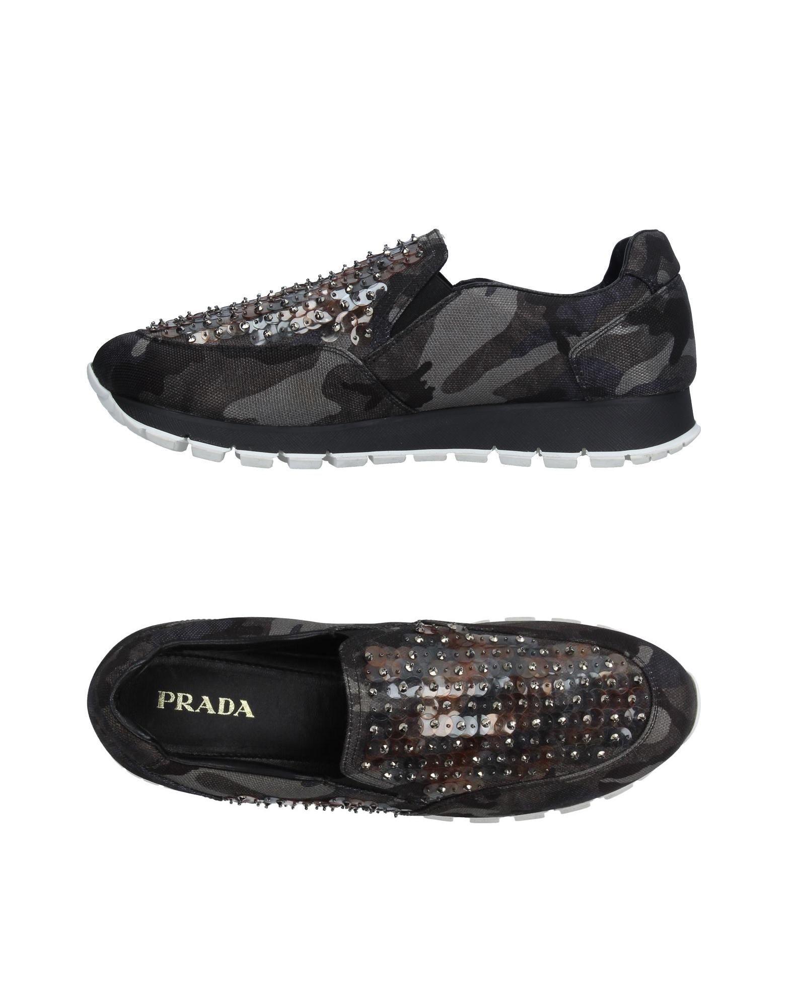 Prada Sneakers aussehende Damen  11211220QNGünstige gut aussehende Sneakers Schuhe b4ddf0