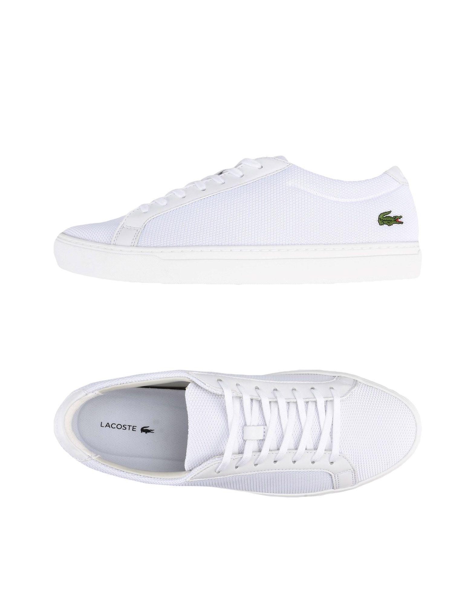 Sneakers Lacoste L.12.12 Bl 2 - Homme - Sneakers Lacoste  Blanc Nouvelles chaussures pour hommes et femmes, remise limitée dans le temps