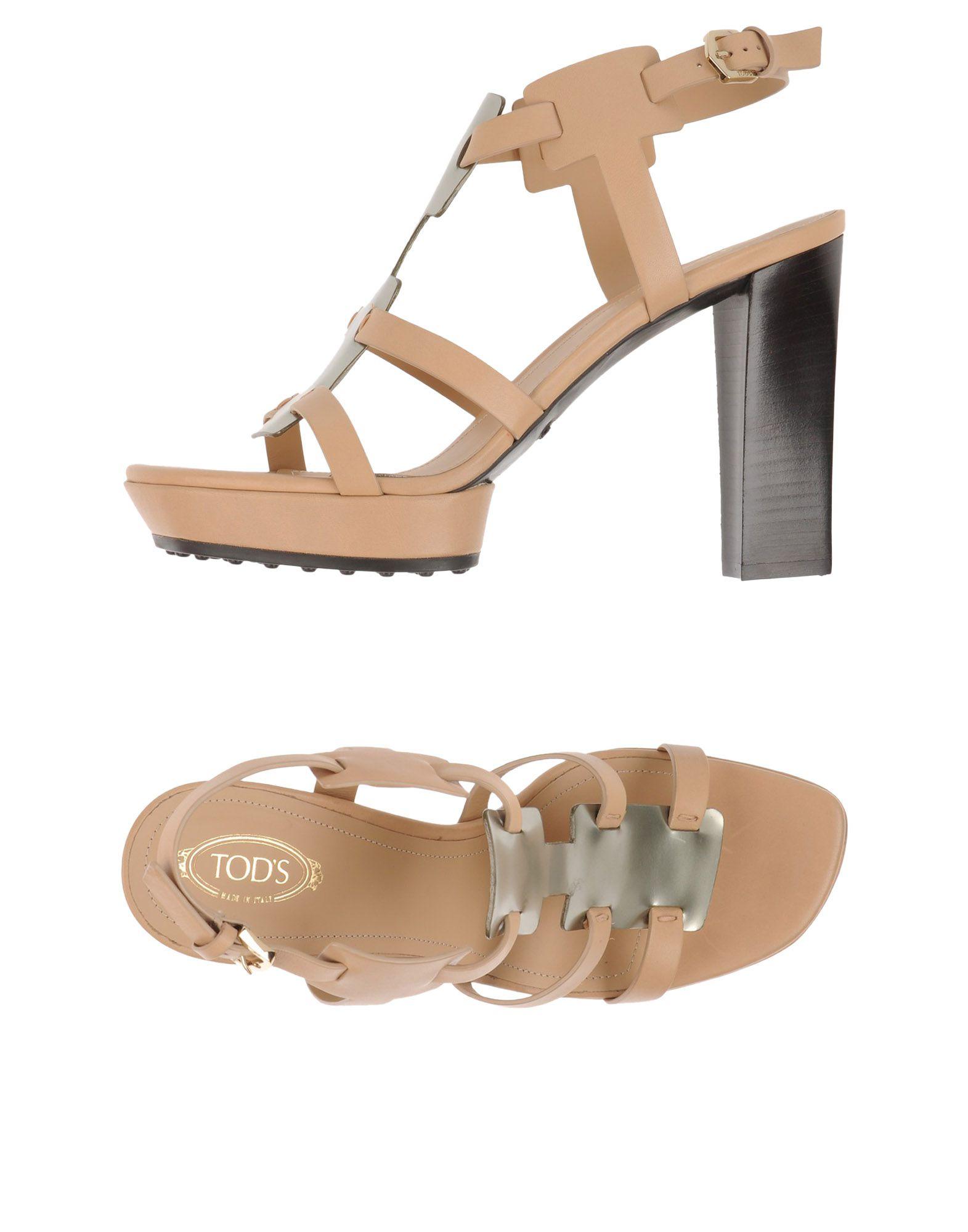 Stilvolle Stilvolle Stilvolle billige Schuhe Tod's Sandalen Damen  11211476RI b2168b