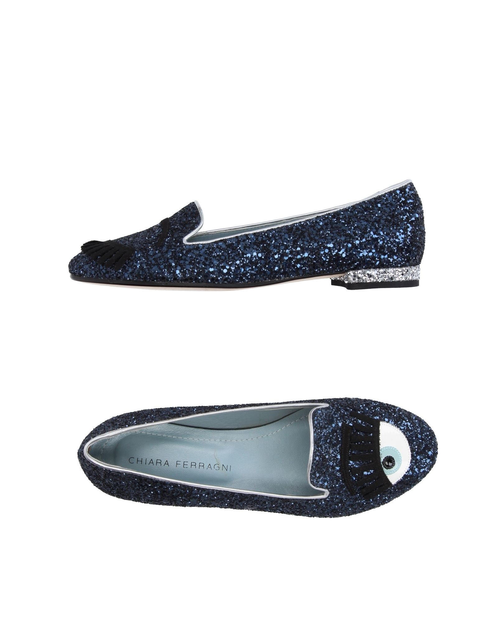 Stilvolle billige Schuhe Chiara Ferragni Mokassins Damen  11212622RJ
