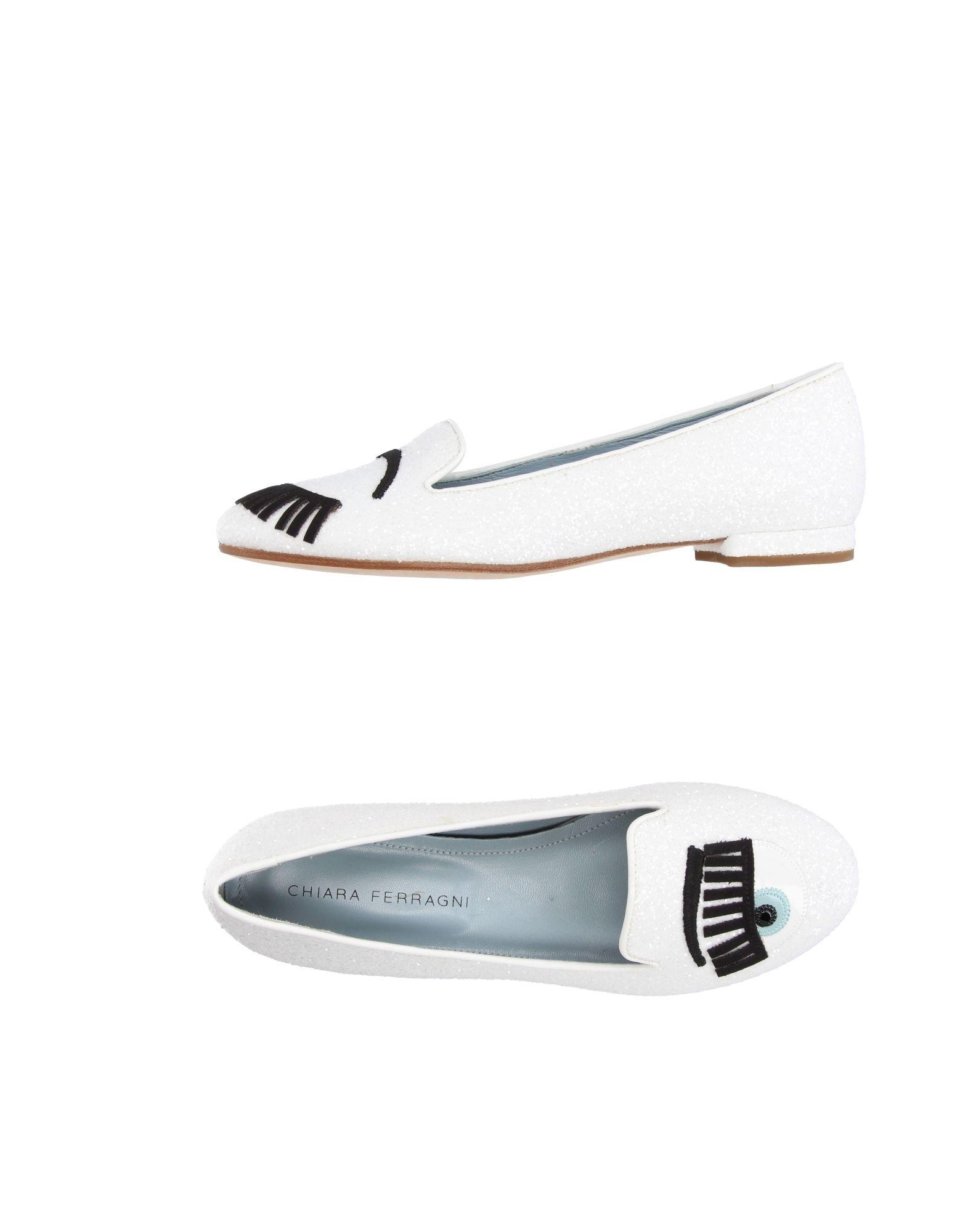 Stilvolle billige Schuhe Chiara Ferragni Mokassins Damen  11212624DU