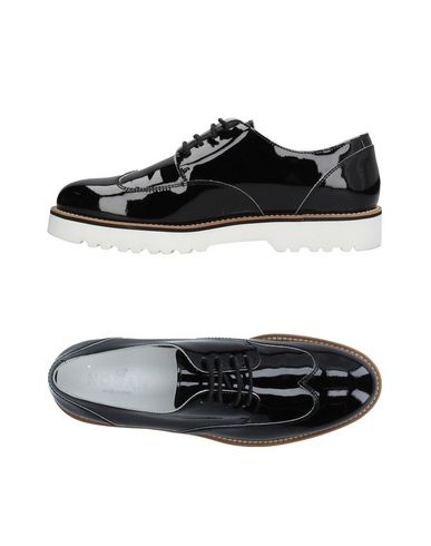 Hogan Chaussures Hogan Noir Chaussures Lacets À 7x8xq1w
