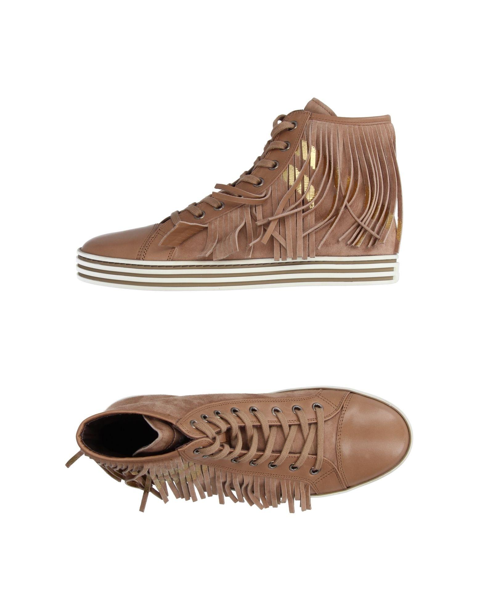 Stilvolle billige Schuhe Hogan Rebel Sneakers Damen  11214238SB