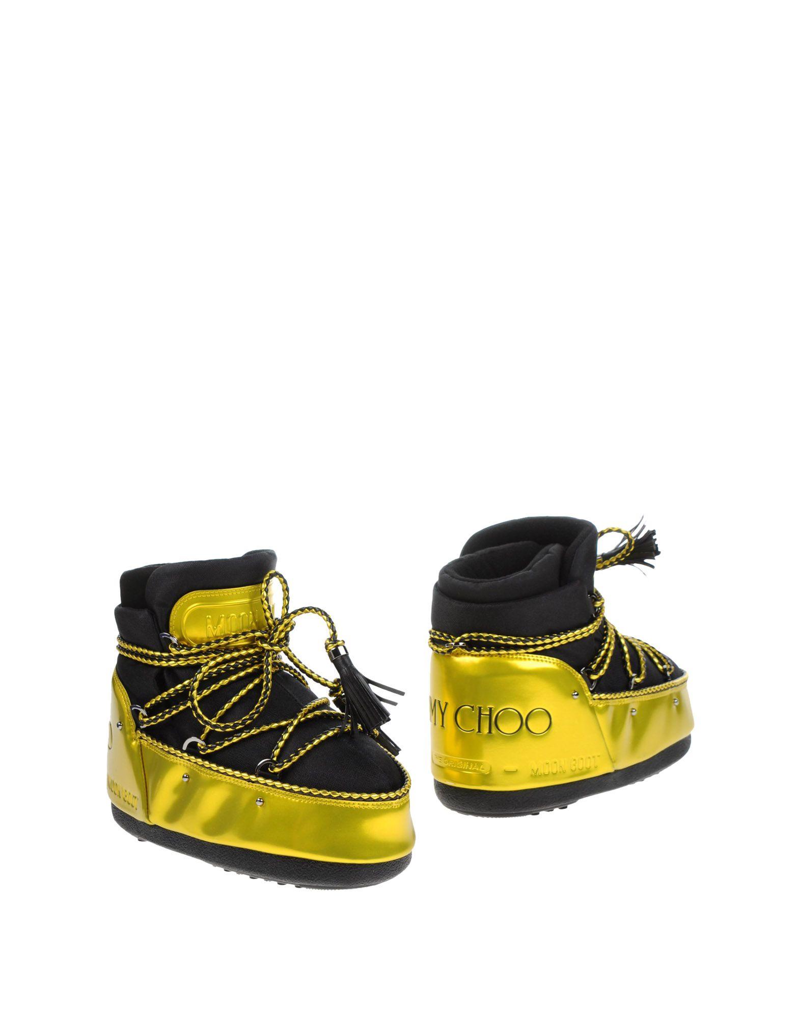 Rabatt Schuhe Moon Boot & Jimmy Choo Stiefelette Damen  11214996RH