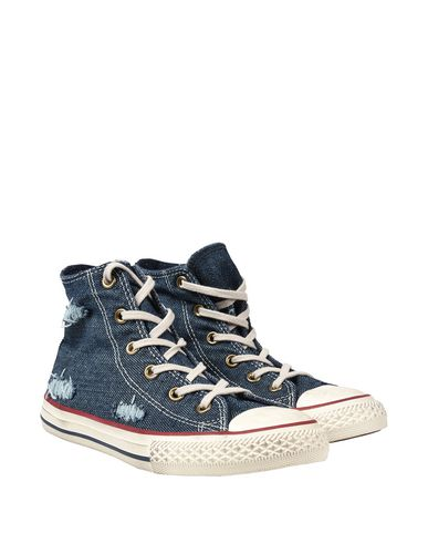 CONVERSE ALL STAR CT AS Hi Denim Destroyed Sneakers