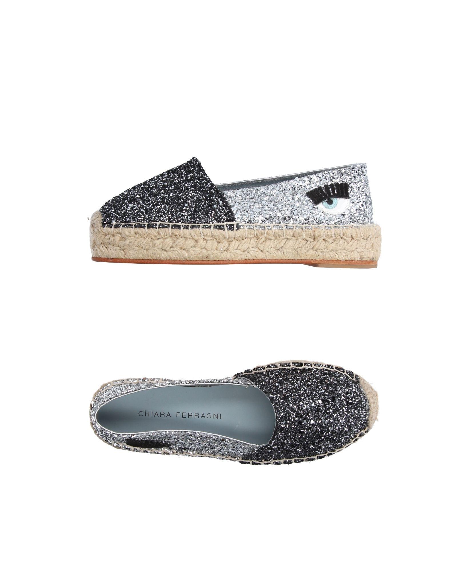 Stilvolle billige Schuhe Chiara Ferragni Espadrilles Damen  11215221TD