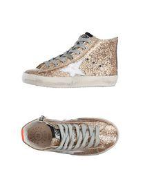 GOLDEN GOOSE - Sneakers abotinadas
