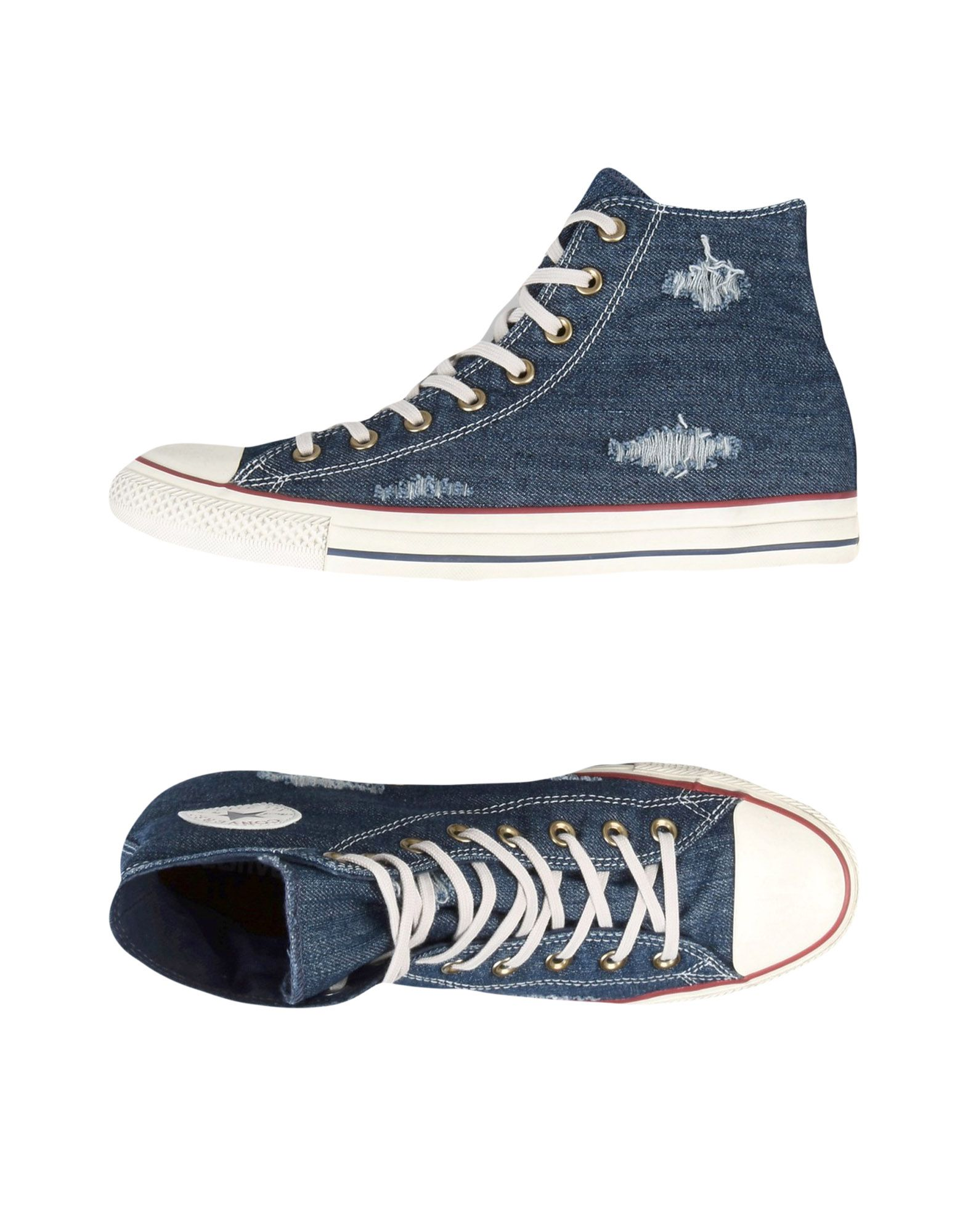 Sneakers Converse All Star Ct - As Hi Denim Destroyed - Uomo - Ct 11216333CK ddd795