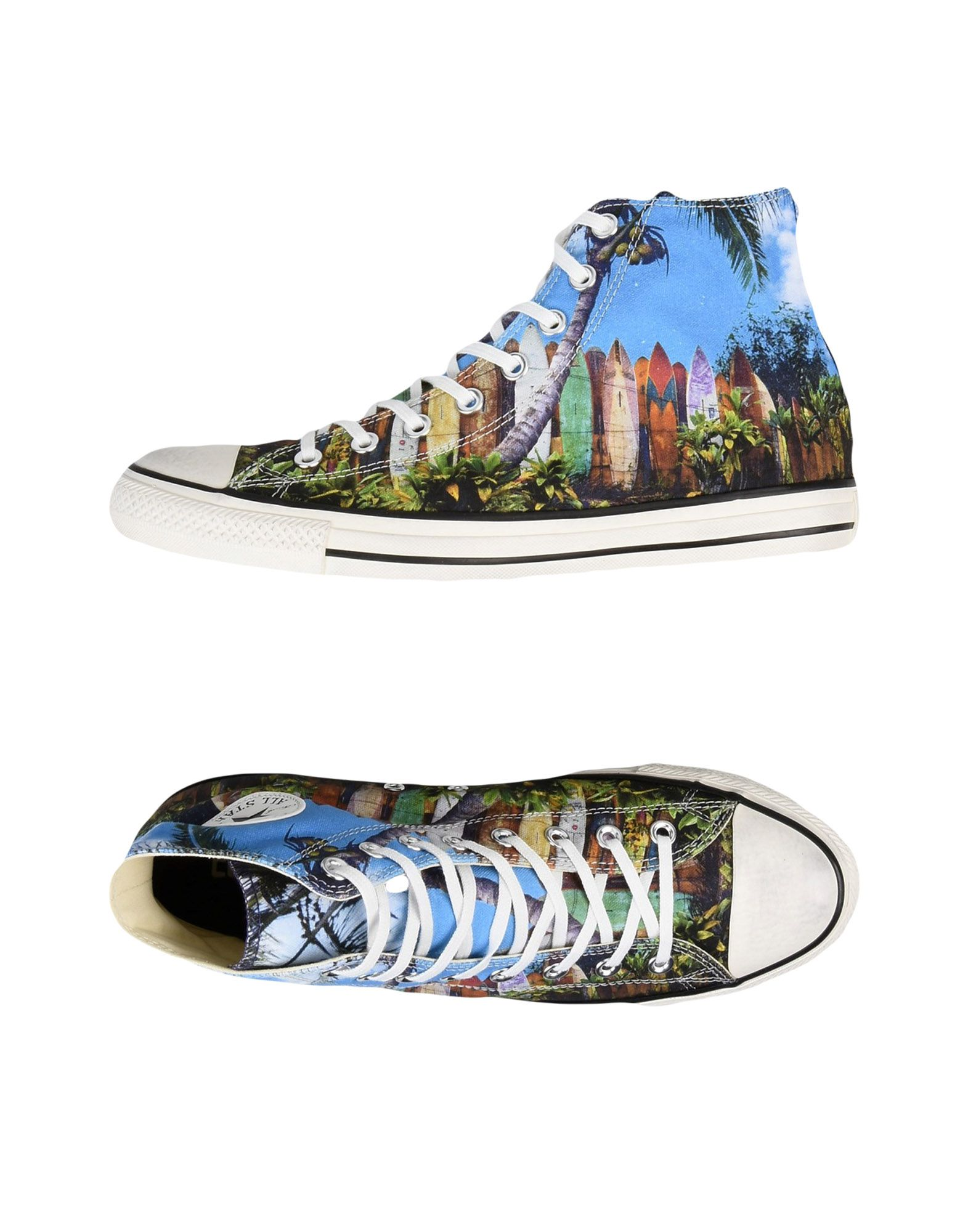 Sneakers Converse All Star Ct As Hi Canvas Print Distressed - Uomo - 11216340PI