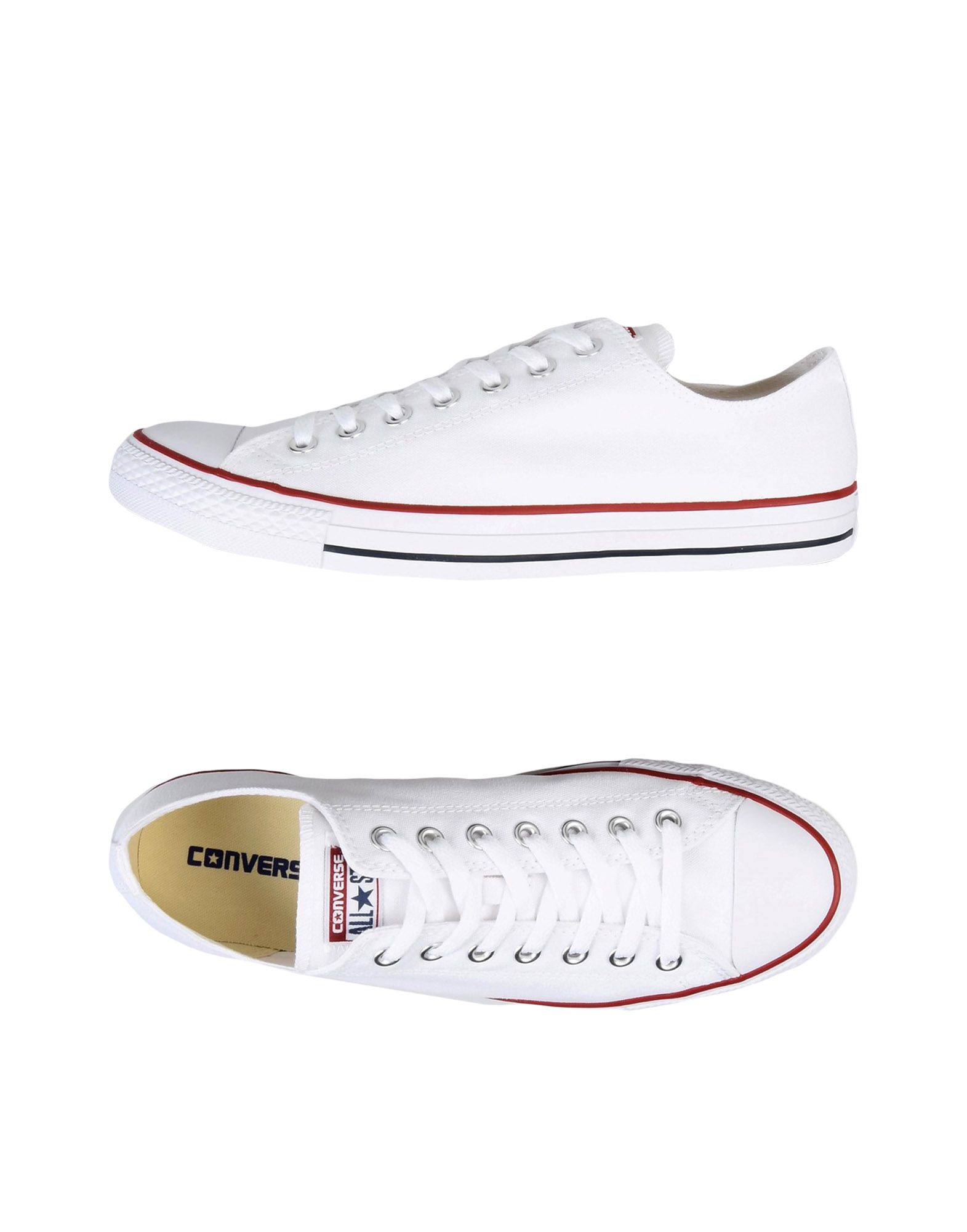 Baskets Converse All Star Ct As Ox Canvas Core - Homme - Baskets Converse All Star  Blanc Confortable et belle