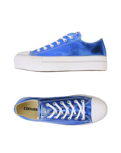 converse all star ox platform canvas metallic