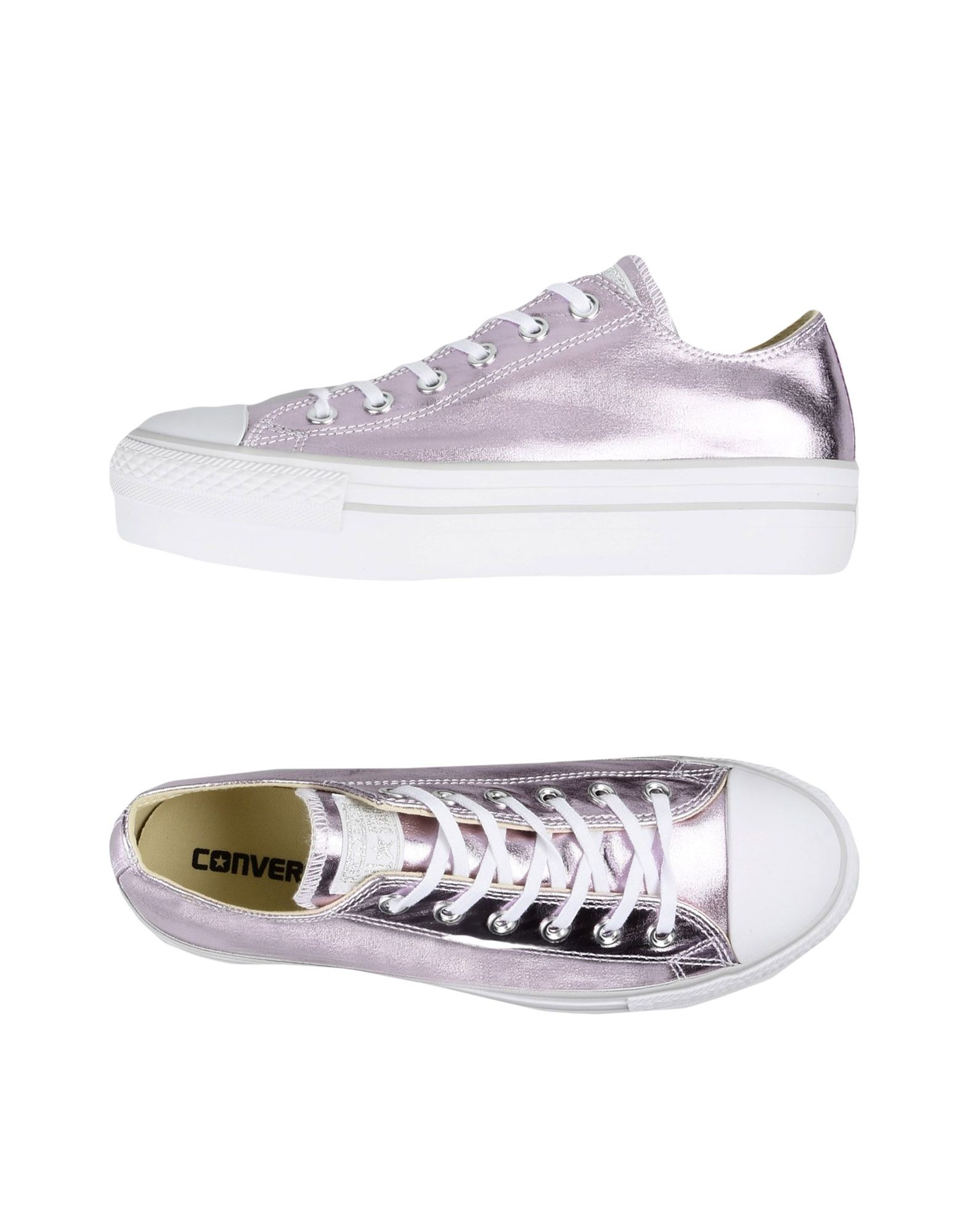 Sneakers Converse All Star Ct As Ox Platform Canvas Metallic - Donna - Acquista online su