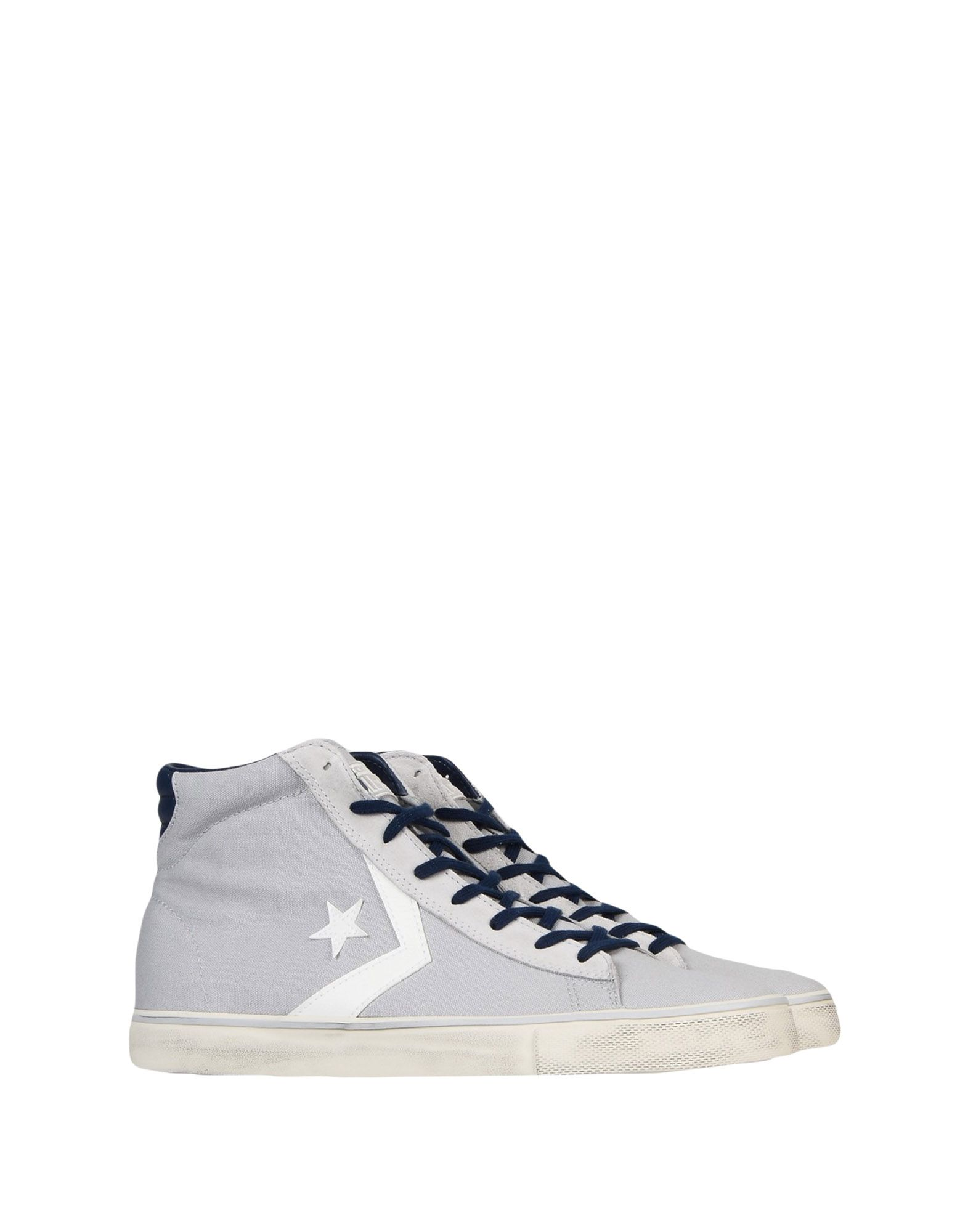 Sneakers Converse Cons Pro Leather Vulc Mid Canvas Distressed - Homme - Sneakers Converse Cons sur
