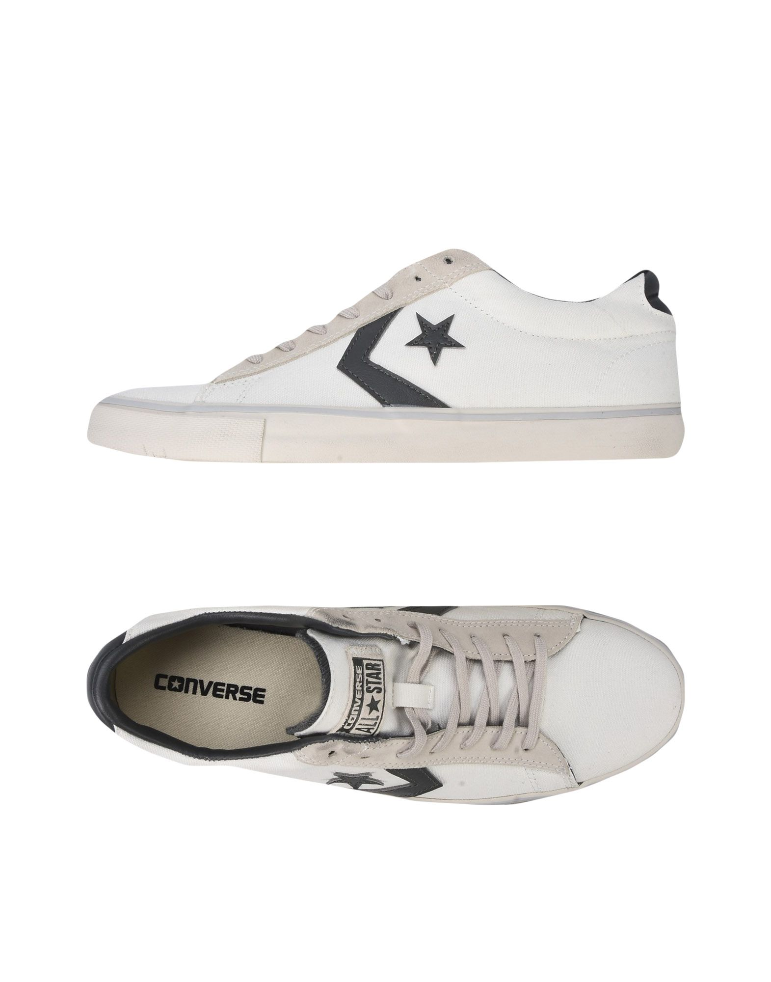Sneakers Converse Cons Pro Leather Vulc Ox Canvas Distressed - Homme - Sneakers Converse Cons sur