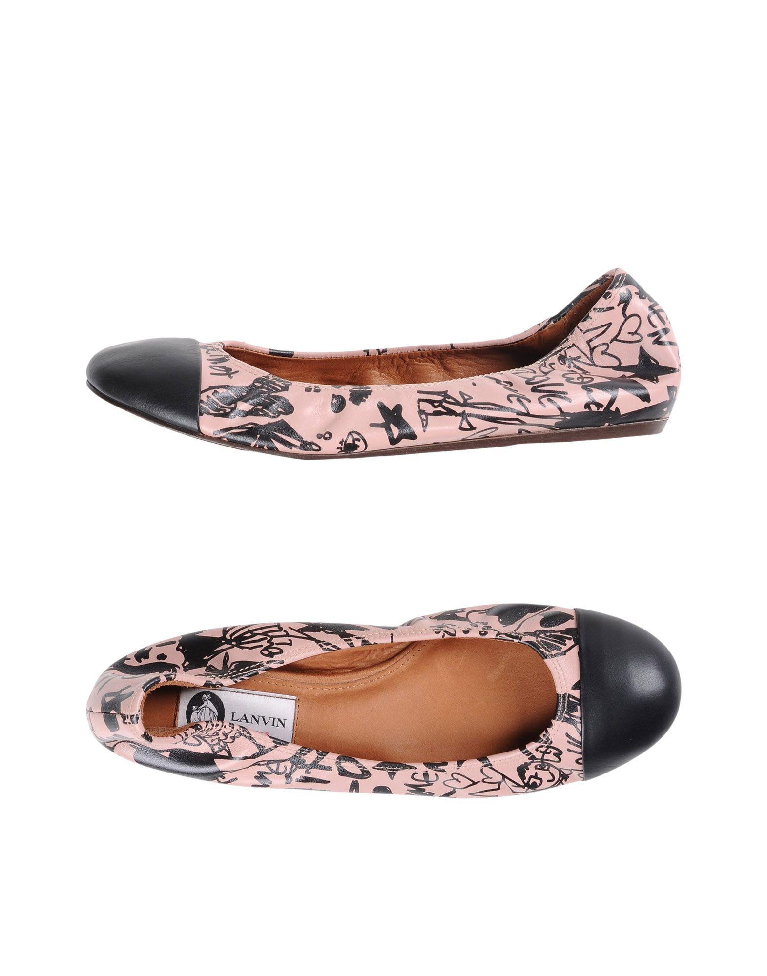 Lanvin gut Ballerinas Damen  11216488MMGünstige gut Lanvin aussehende Schuhe 4e9902