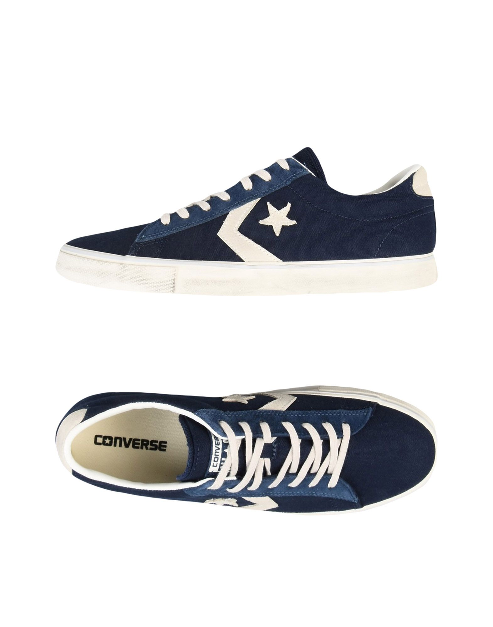 Sneakers Converse Cons Pro Leather Vulc Ox Canvas Distressed - Uomo - 11216614FP