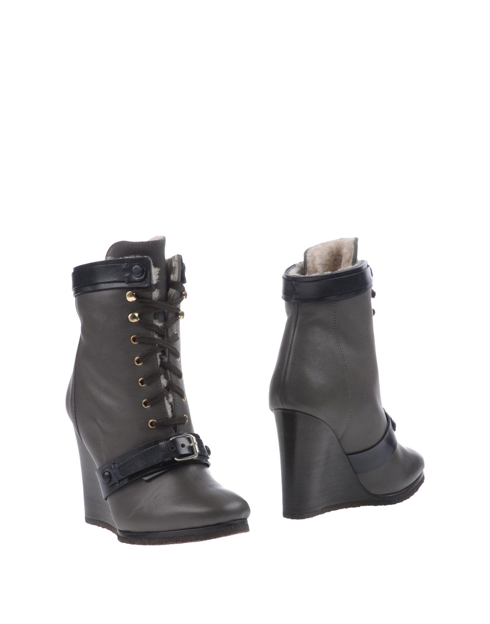 Bottine Chloé Femme - Bottines Chloé Plomb Chaussures femme pas cher homme et femme