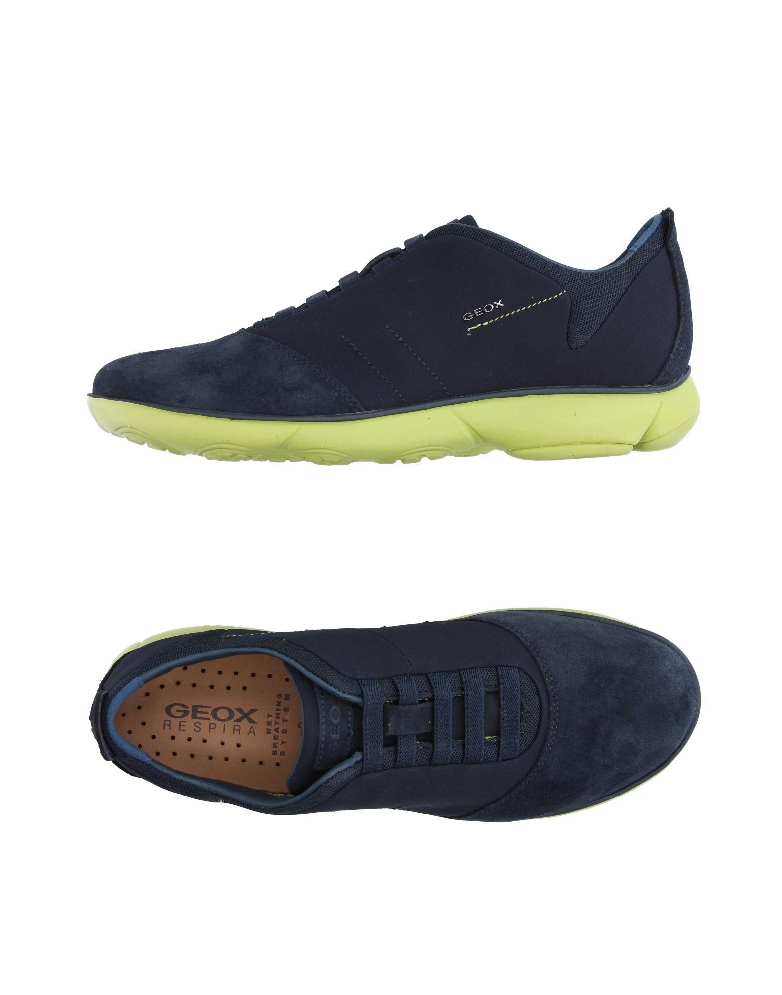Sneakers Geox Homme - Sneakers Geox  Noir Super rabais