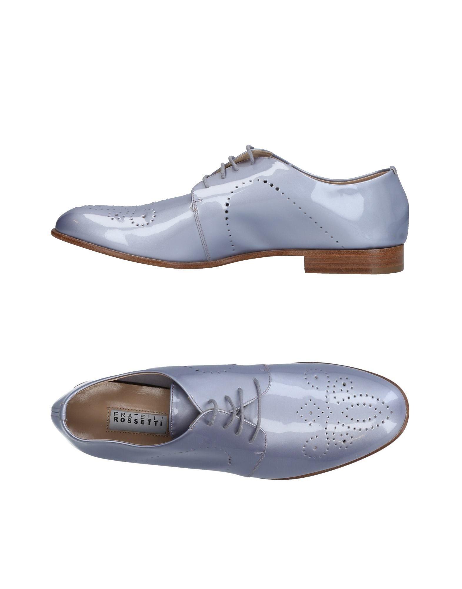 Stilvolle billige Schuhe Fratelli Rossetti Schnürschuhe Damen  11217730HP