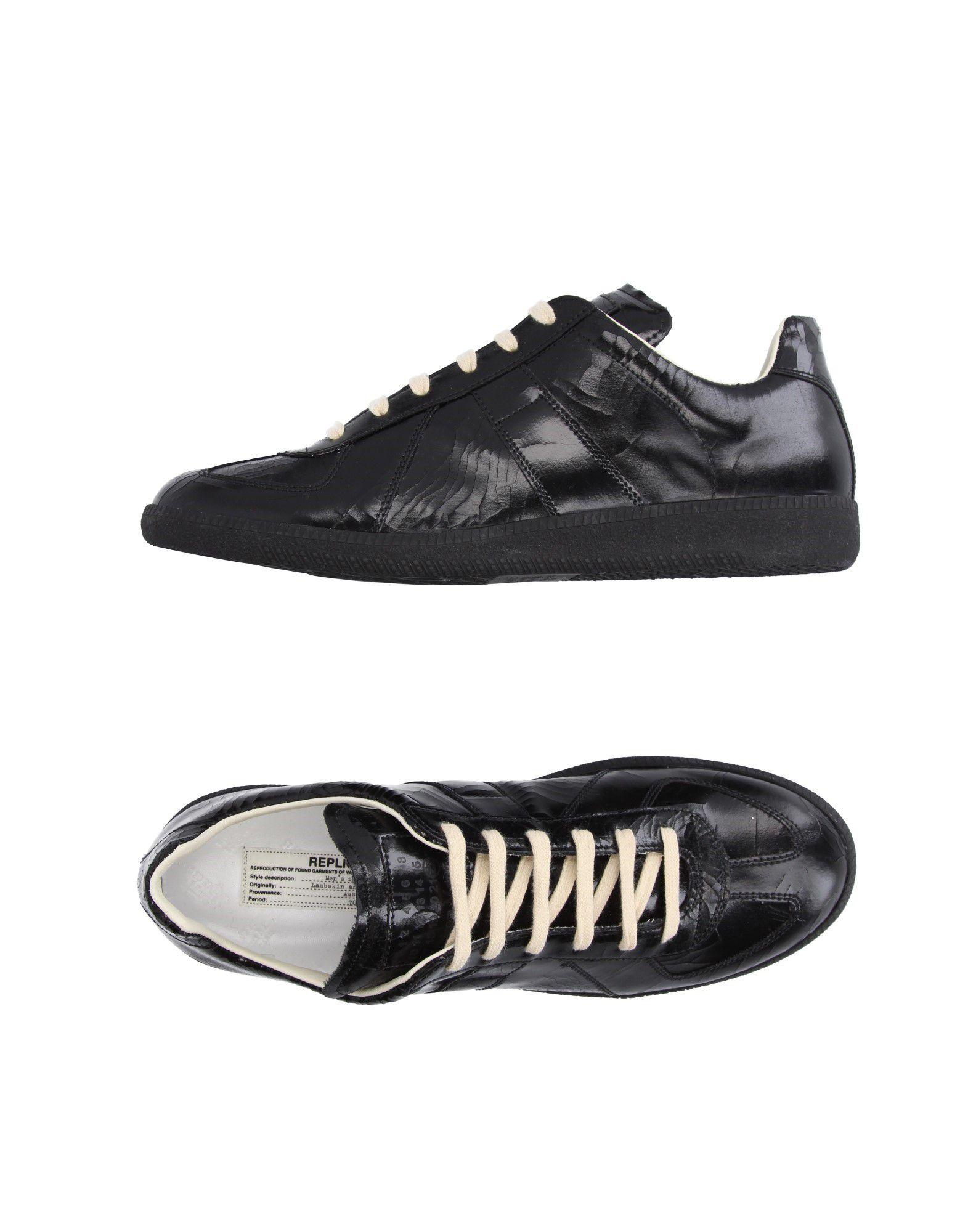 Sneakers Maison Margiela Margiela Homme - Sneakers Maison Margiela Margiela  Noir Nouvelles chaussures pour hommes et femmes, remise limitée dans le temps 7cf586