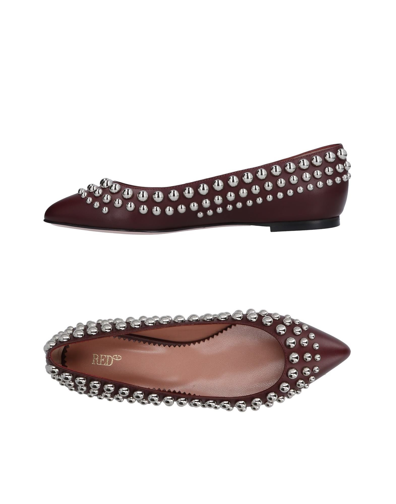 Red(V) Ballet Flats Flats Flats - Women Red(V) Ballet Flats online on  United Kingdom - 11218542QP 58bbe6