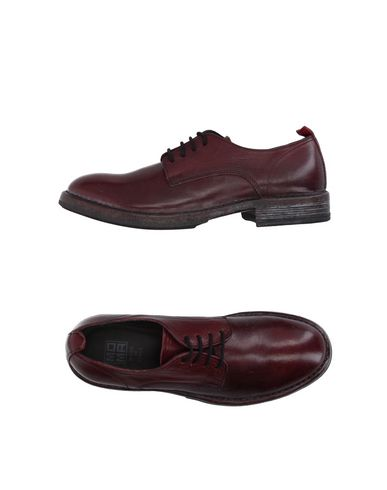 MOMA Laced Shoes in Maroon