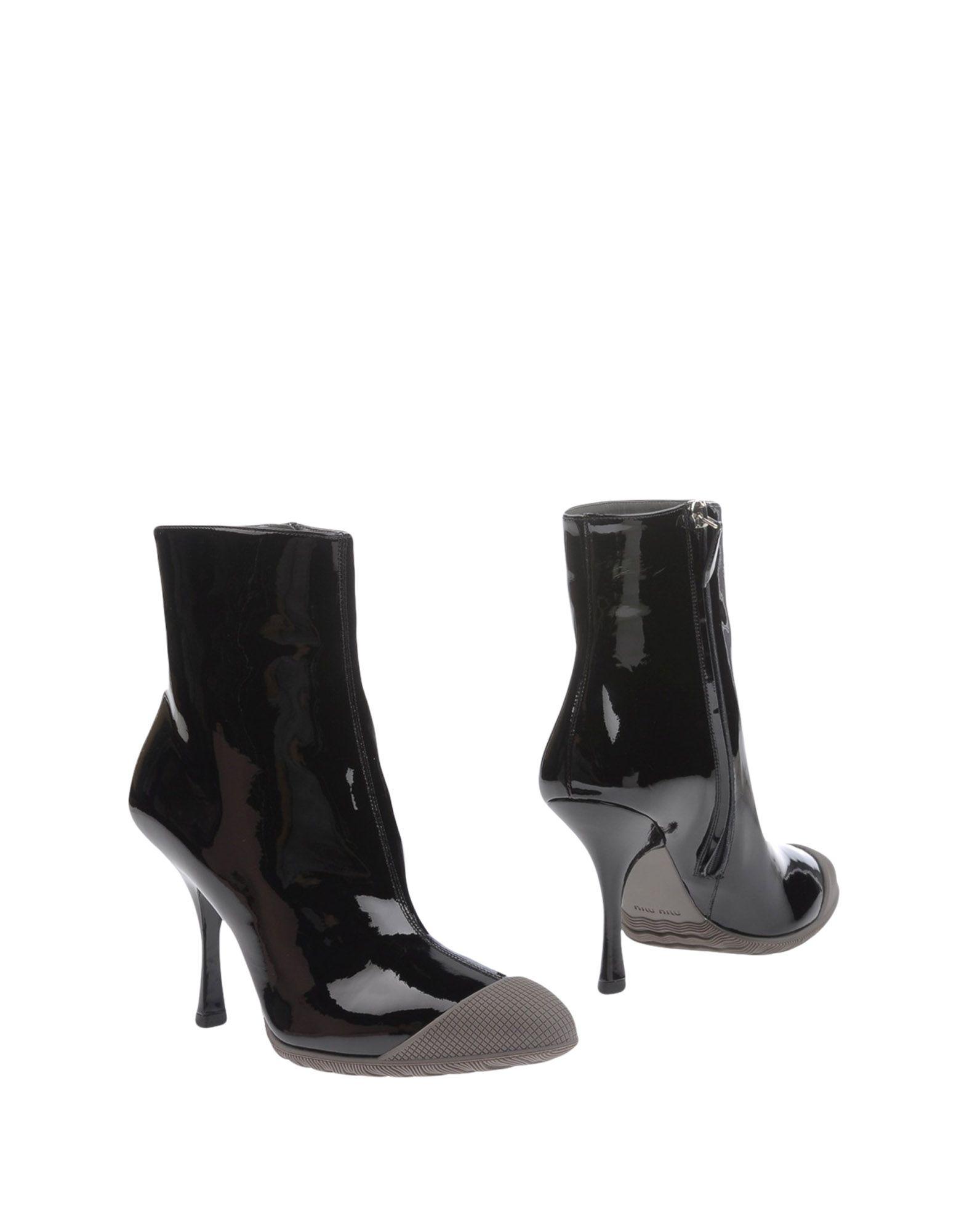 Miu Miu Stiefelette aussehende Damen  11218985FTGünstige gut aussehende Stiefelette Schuhe 252944