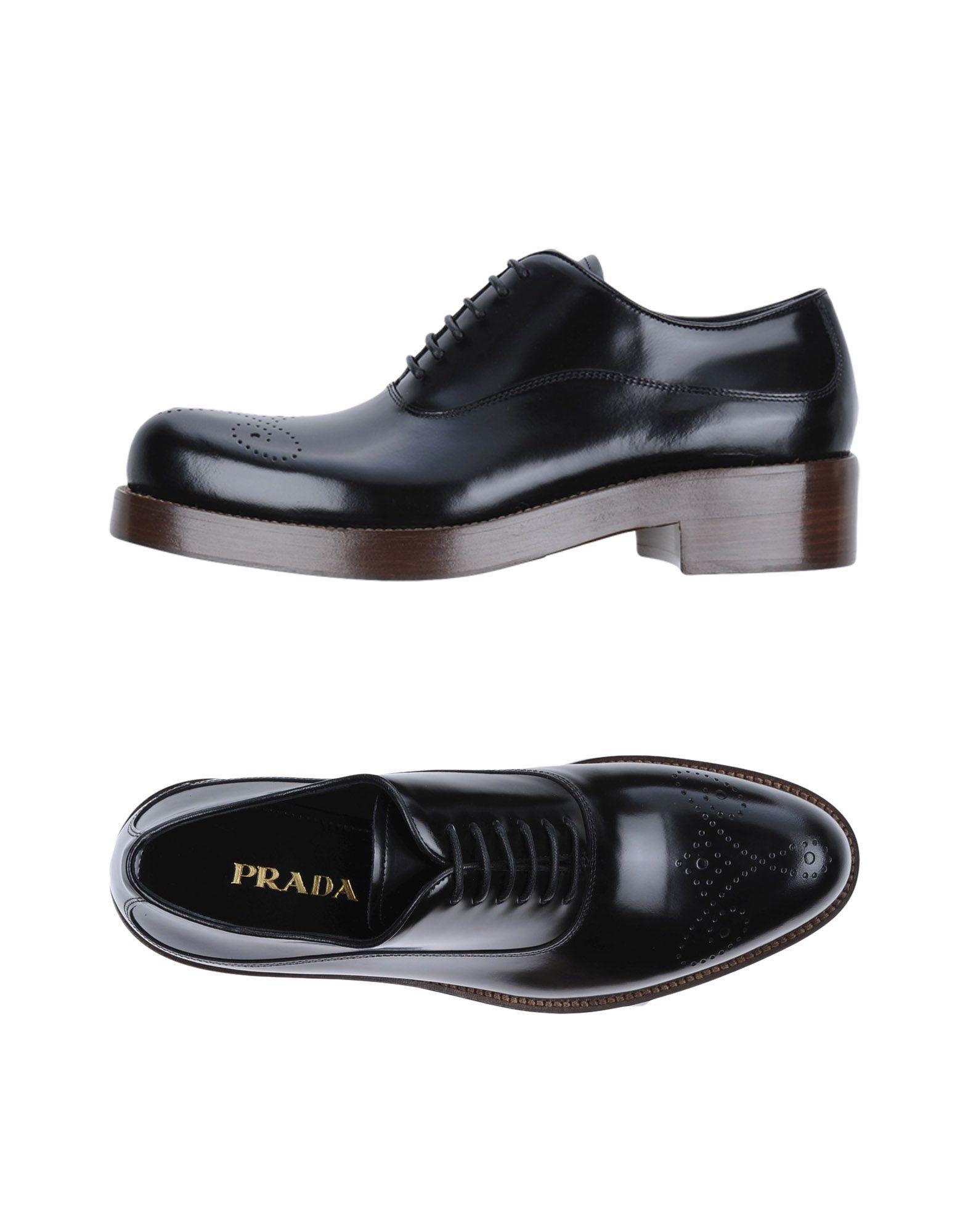 Prada Schnürschuhe Damen  11219023SQGünstige gut aussehende Schuhe