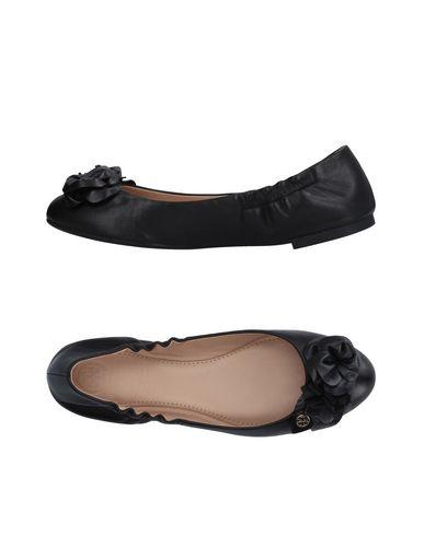 Blossom leather ballerina slippers
