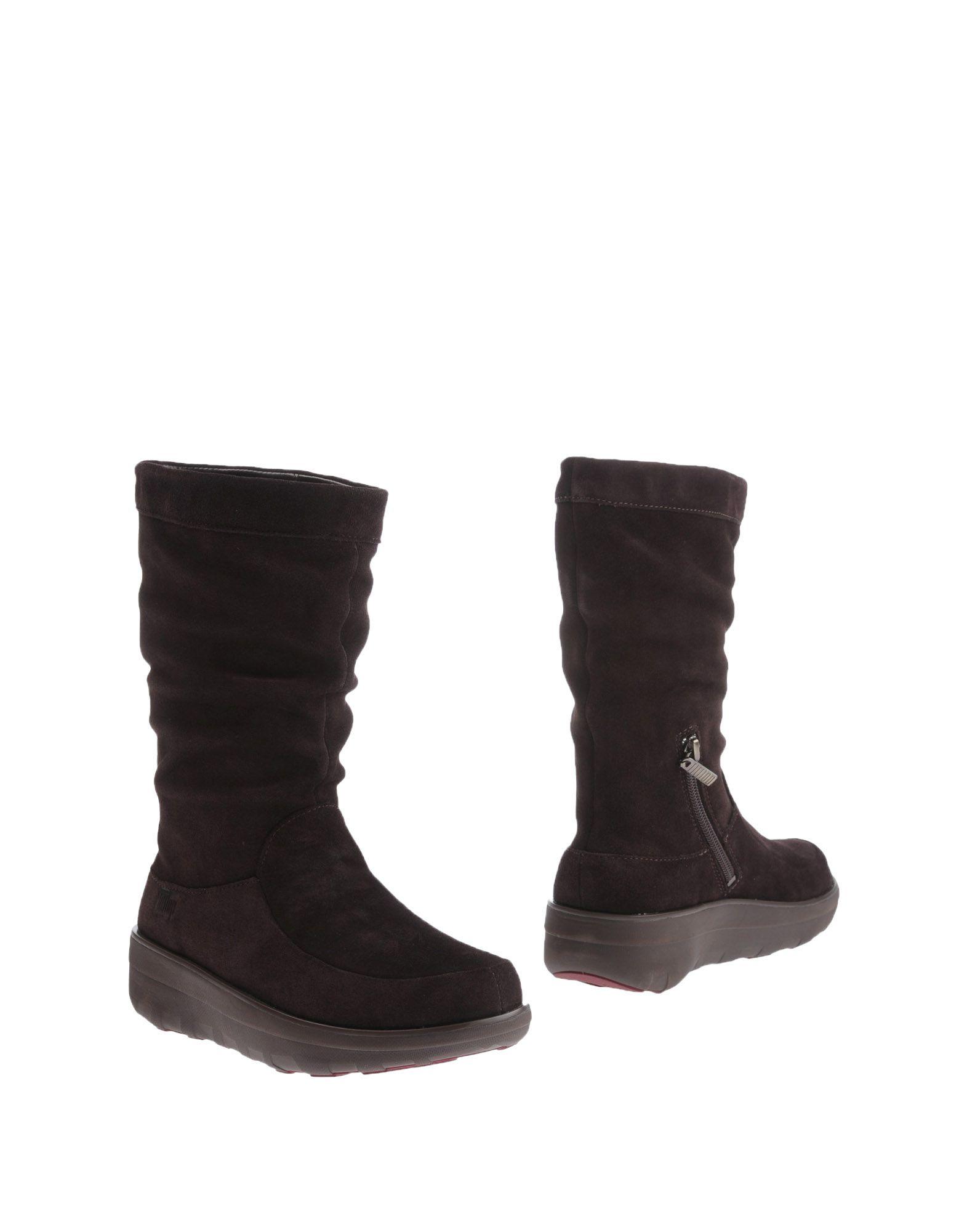 Günstige und modische Schuhe Fitflop Stiefelette Damen  11219820GR