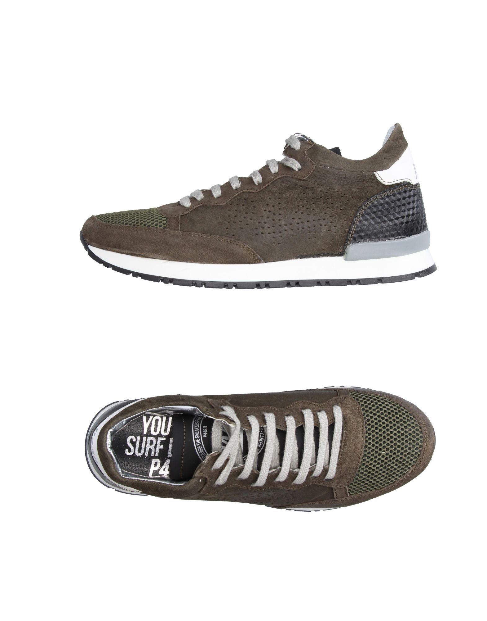 Rabatt echte Schuhe P448 Sneakers Herren  11220142HF