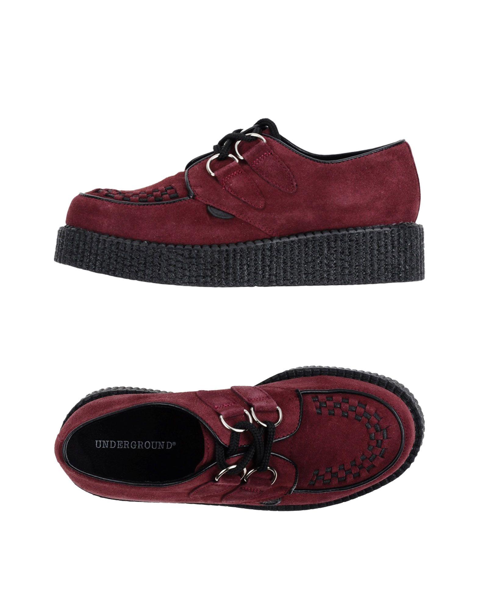 Underground Schnürschuhe Damen  11220443JI Gute Qualität beliebte Schuhe