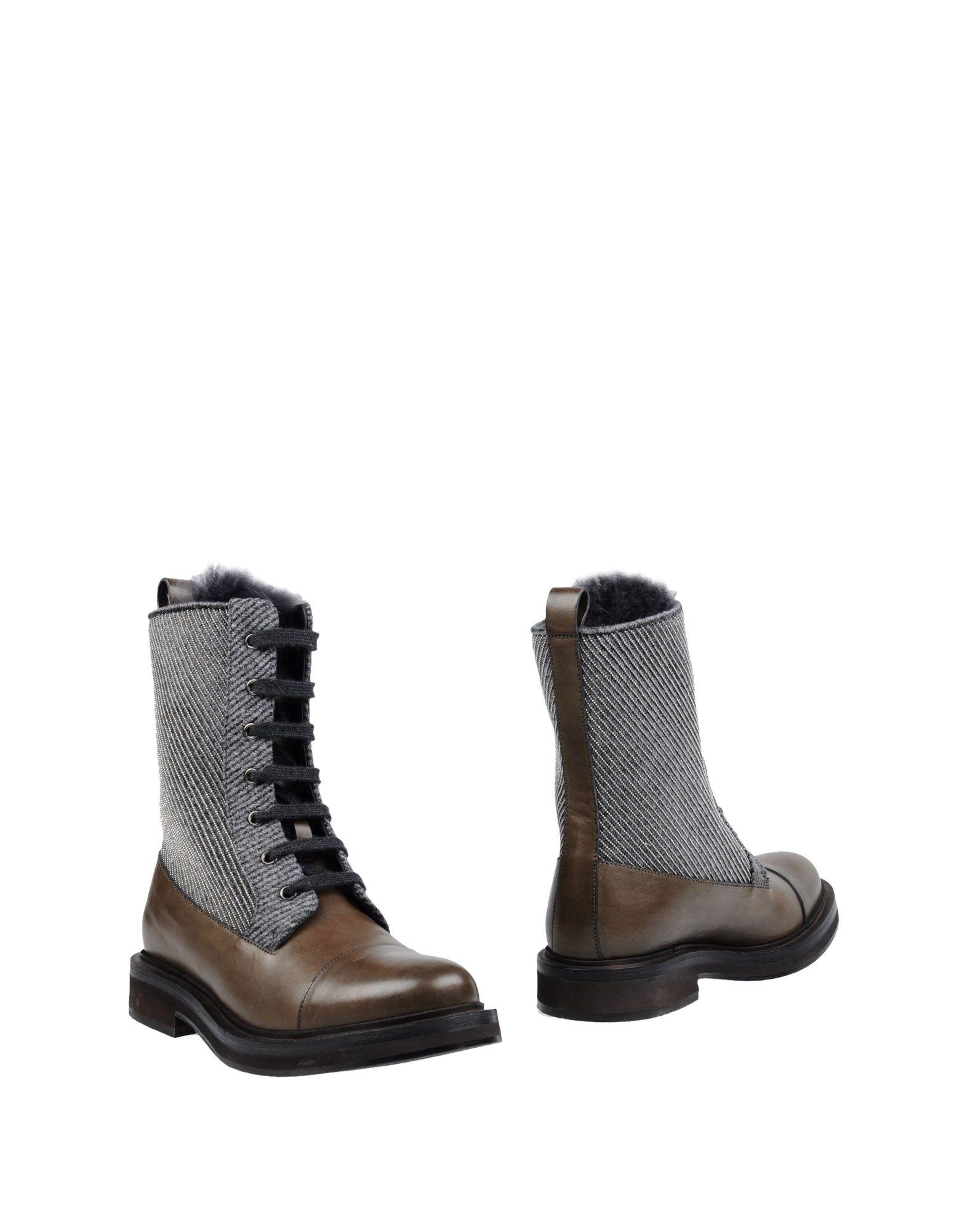 Brunello Cucinelli Stiefelette Damen  11220973CWGünstige gut aussehende Schuhe