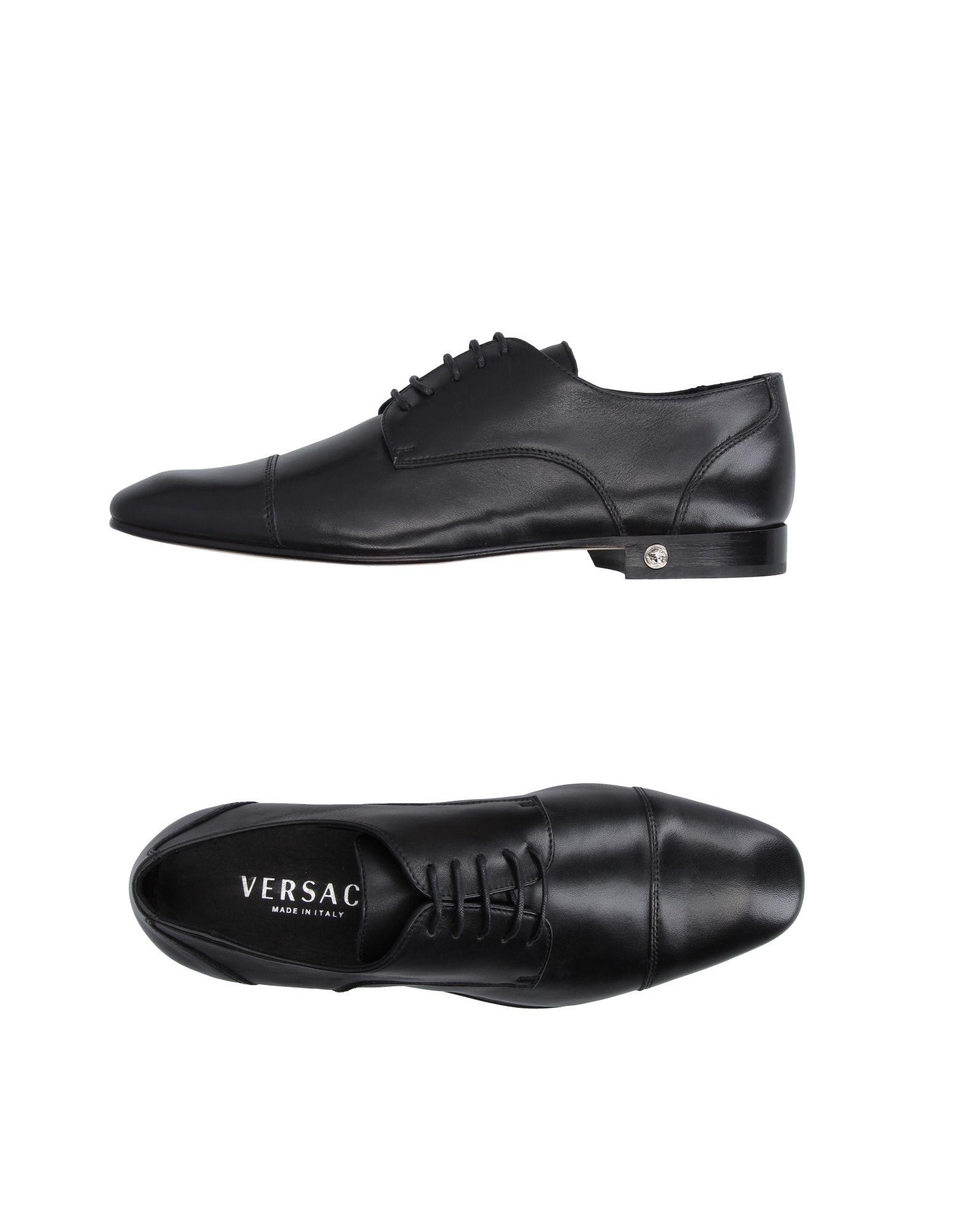 Chaussures À Lacets Versace Femme - Chaussures À Lacets Versace sur