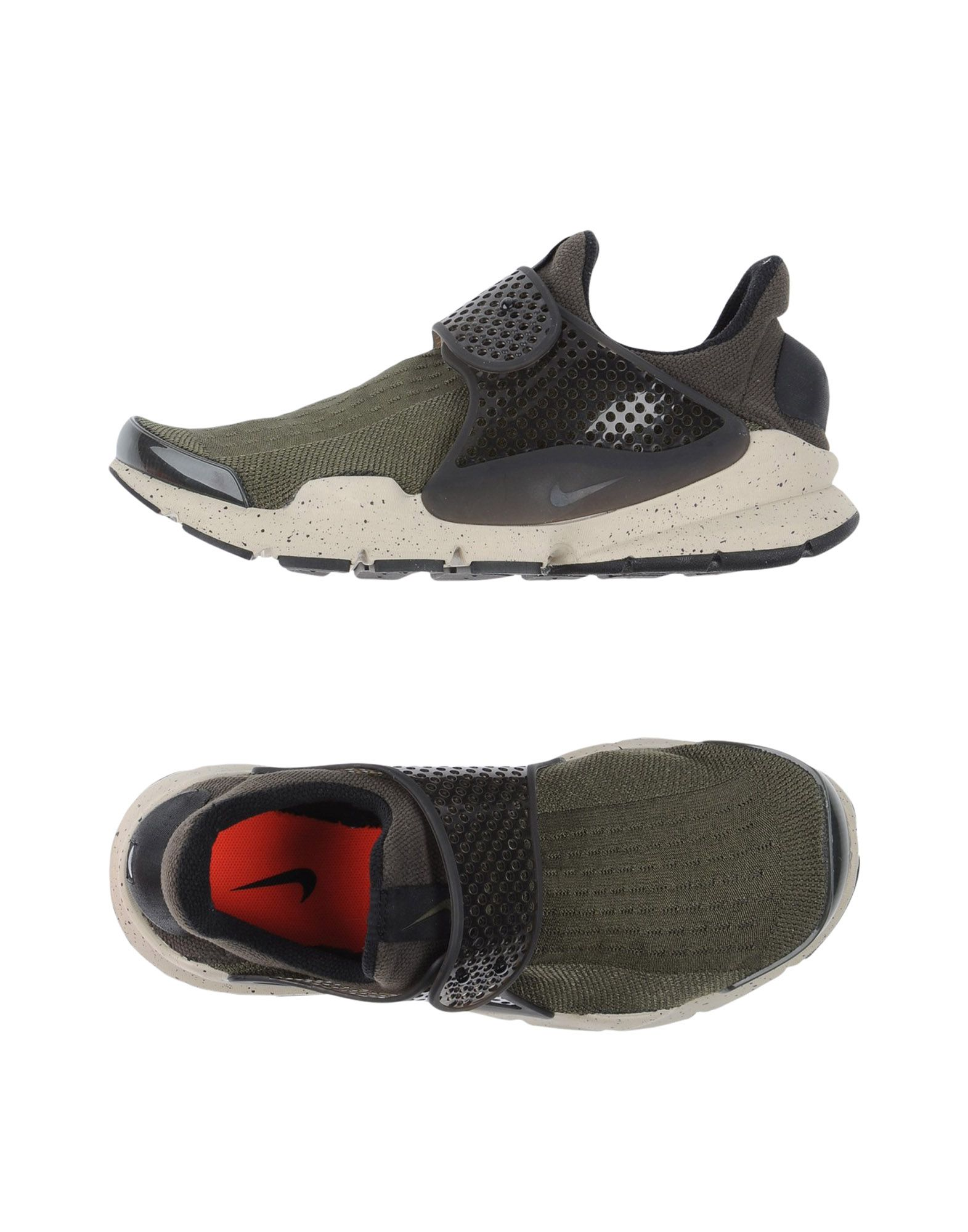 Sneakers Nike Homme Vert - Sneakers Nike  Vert Homme militaire Chaussures casual sauvages 0f35f8